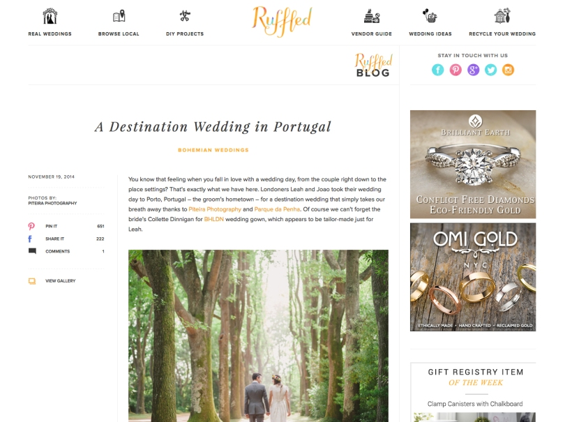 destination wedding porto portugal