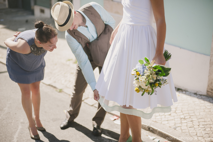 Quirky destination wedding Portugal