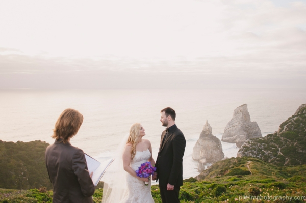 Elopement at Cabo da Roca Portugal