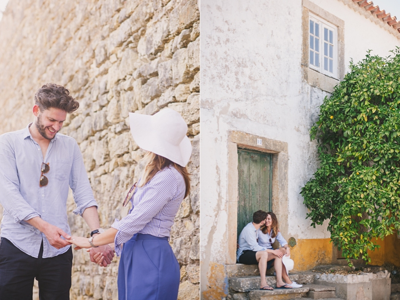 Wedding photographer Obidos Portugal