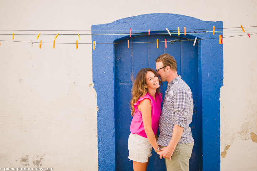 Engagement photos in Ericeira